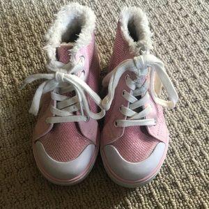 Gymboree Fleece-lined Sneakers, Size 10